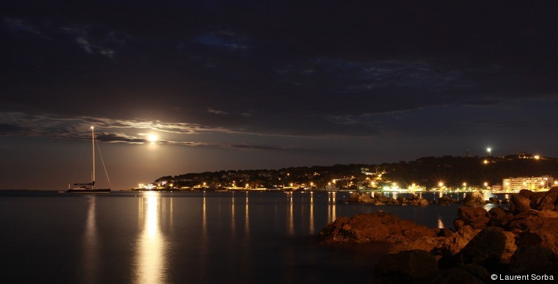 Moonrise on Cap d'Antibes